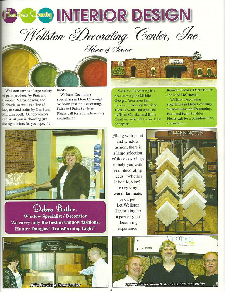 Wellston Decorating Center - Home of Service